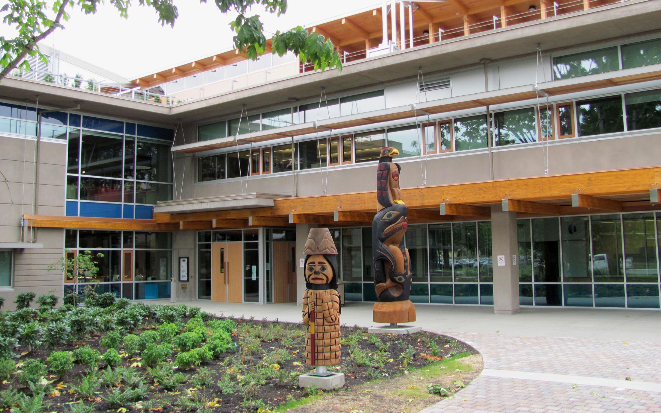 VIU Cowichan Campus Entrance