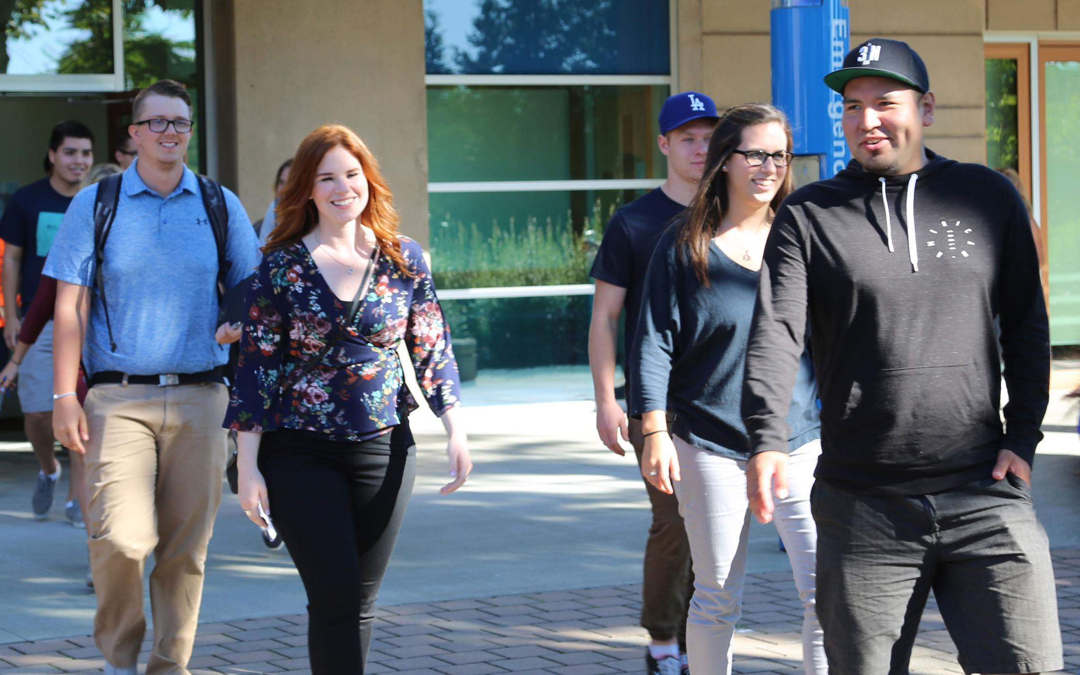 VIU Cowichan Campus Group of Students