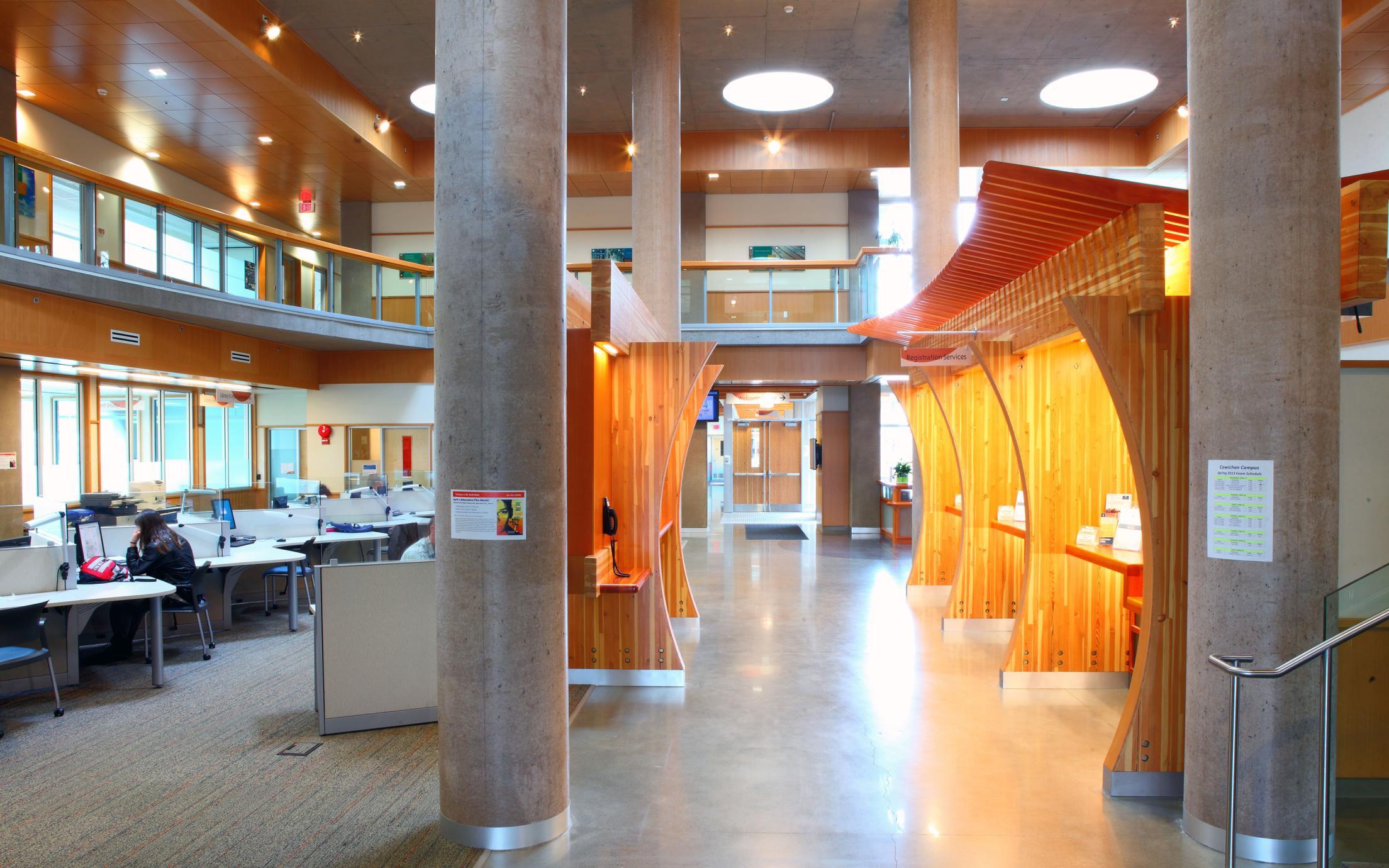 VIU Cowichan Campus Interior