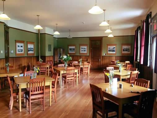 VIU Cowichan Farm Table Dining Room