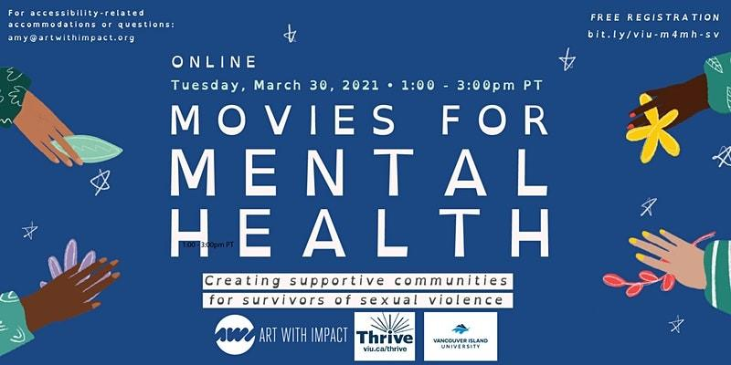 Movies for Mental Health on March 30