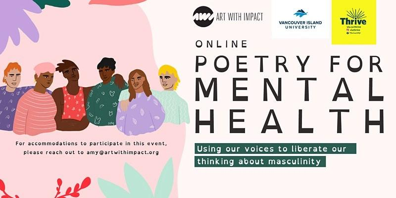Poetry for Mental Health on March 30